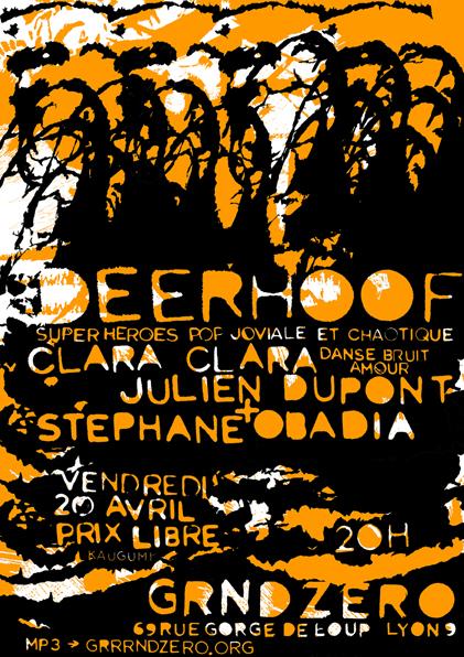 Deerhoof Grrrnd Zero